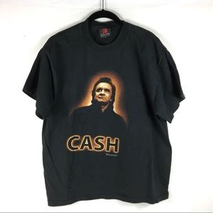 Johnny Cash Man Country Zion Rootswear T-Shirt